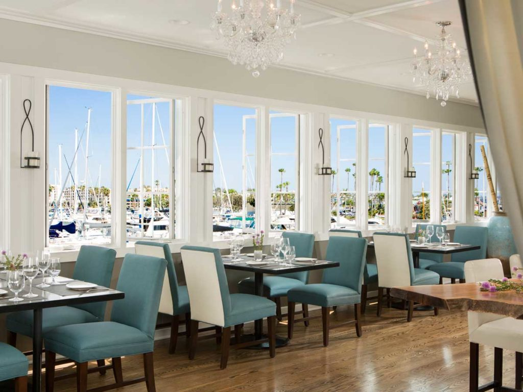 Baleen Kitchen dining room in Redondo Beach, CA